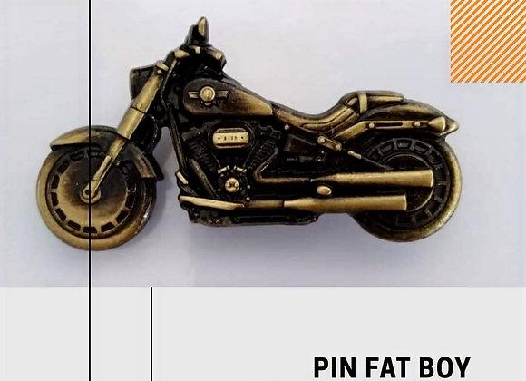 Pin Badge Fat Boy