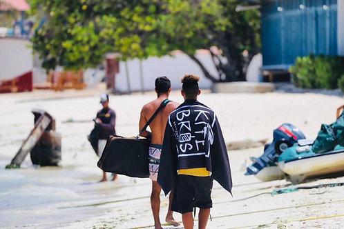 Rider - Beach Towel Black