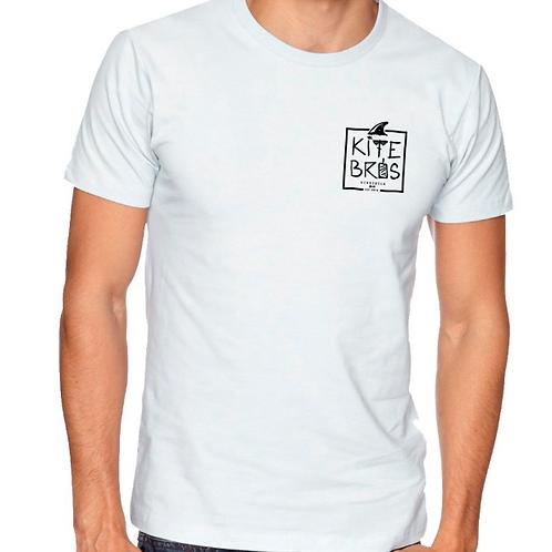 T-Shirt KiteBros® Team Rider White