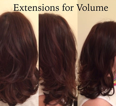 extensions for volume