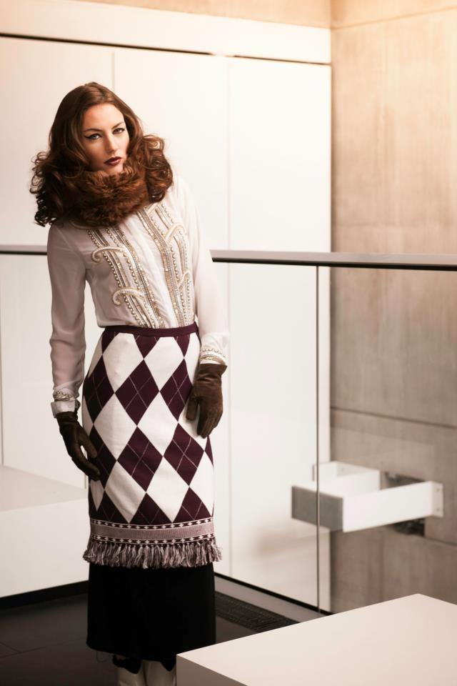 Italian Vogue shoot
