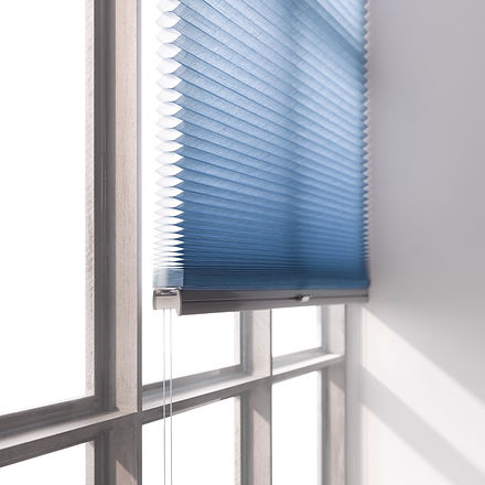 DUETTE® Shades blue close up.jpg