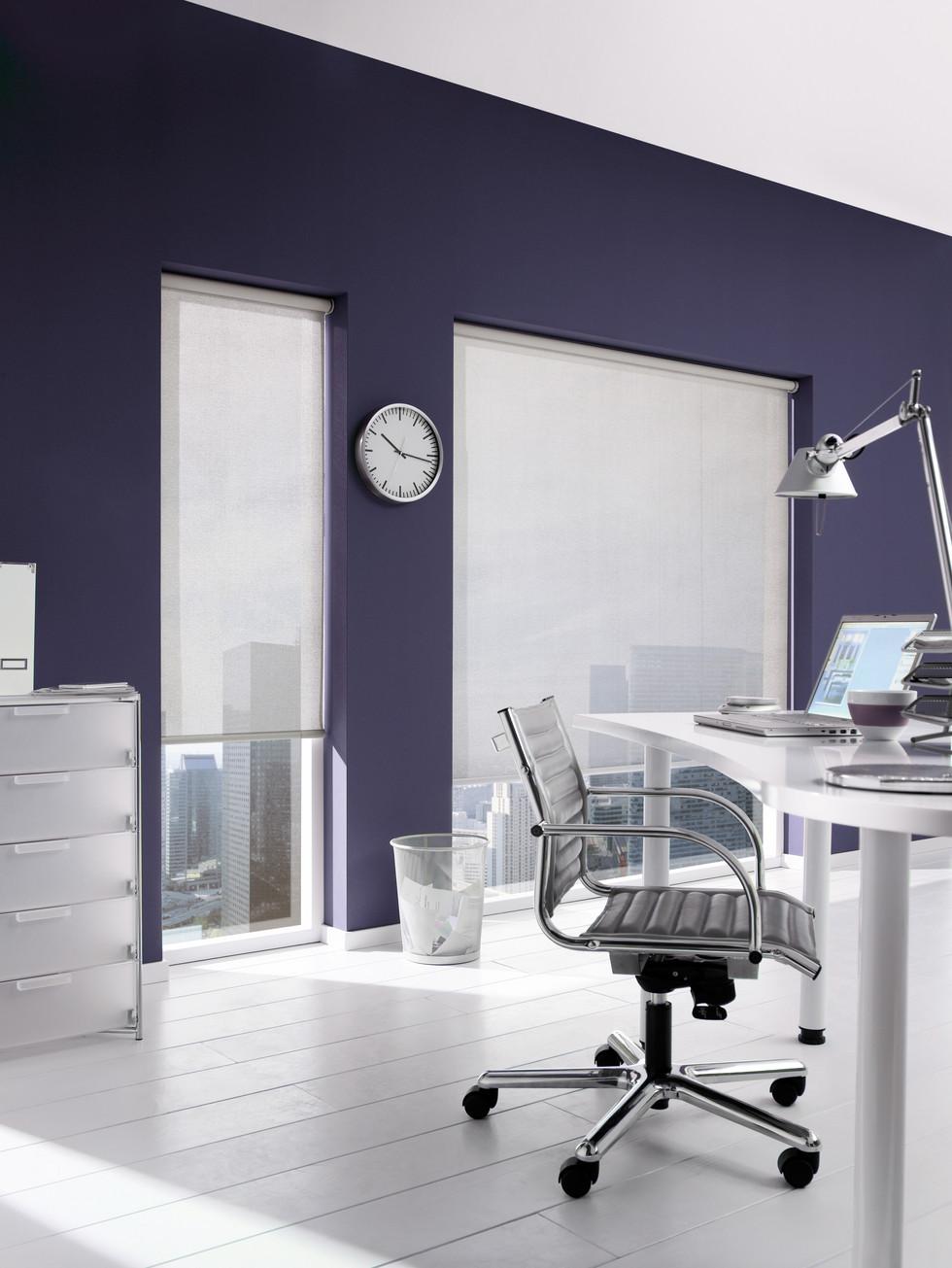 Rullegardin kontor