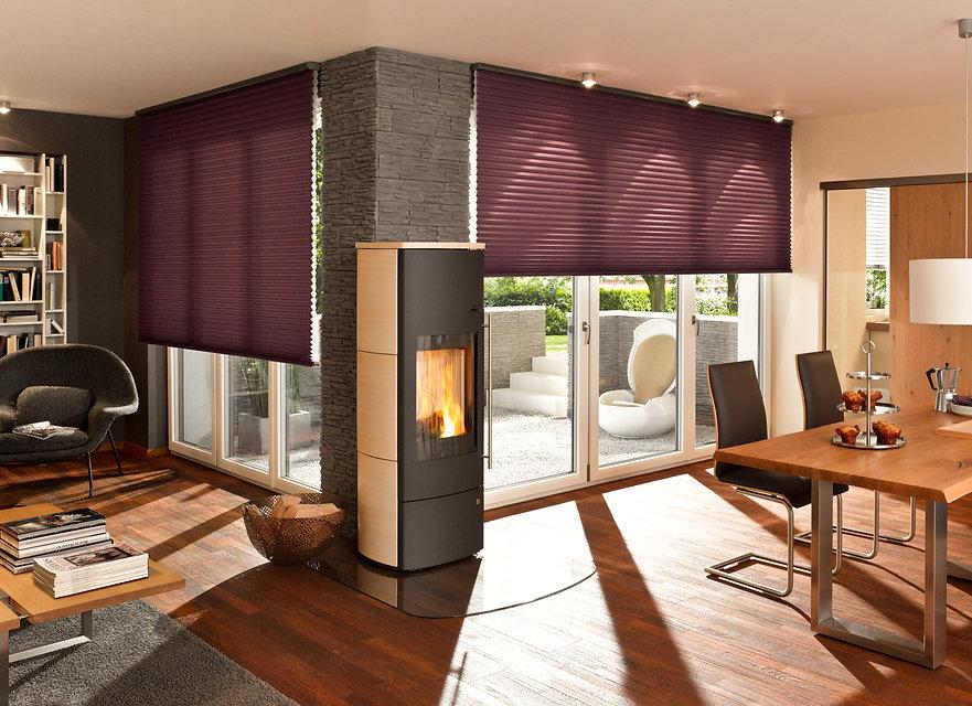 DUETTE® Shades purple in Living Room.jpg