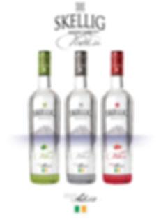 Skellig Mhichil Vodka Design