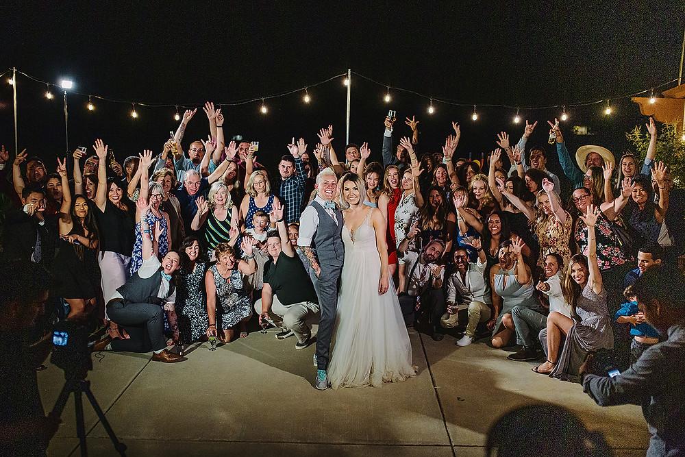 Rustic Style Malibu Wedding