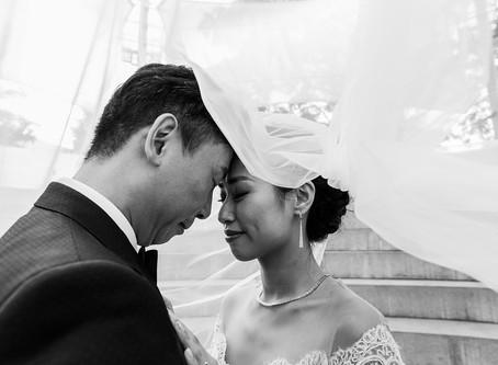 Chinese Wedding at Walt Disney Concert Hall | Bo An + Alan Li