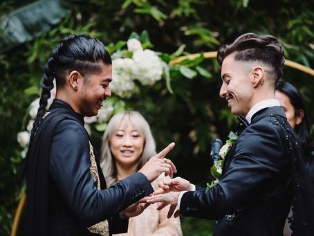 The Millwick, Los Angeles   LGBT wedding
