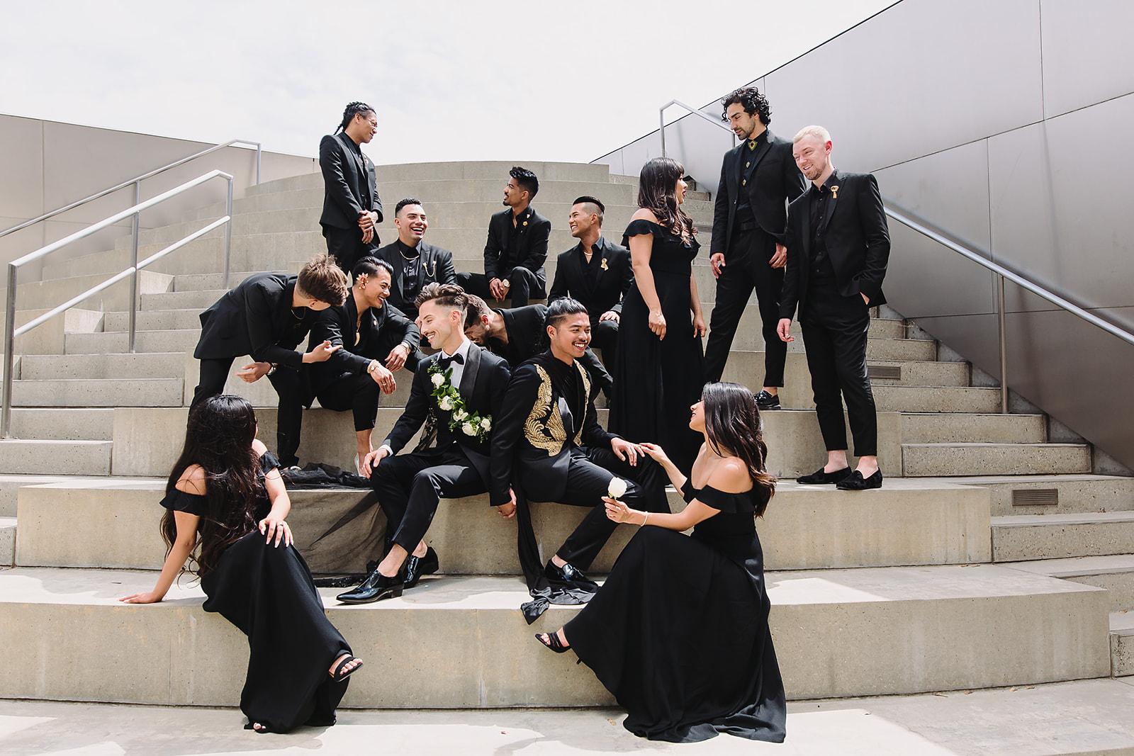 Downtown LA Wedding Photo Spots