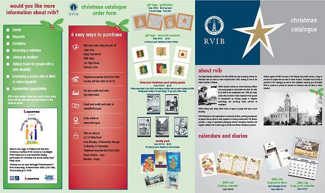 Christmas Catalogue Design