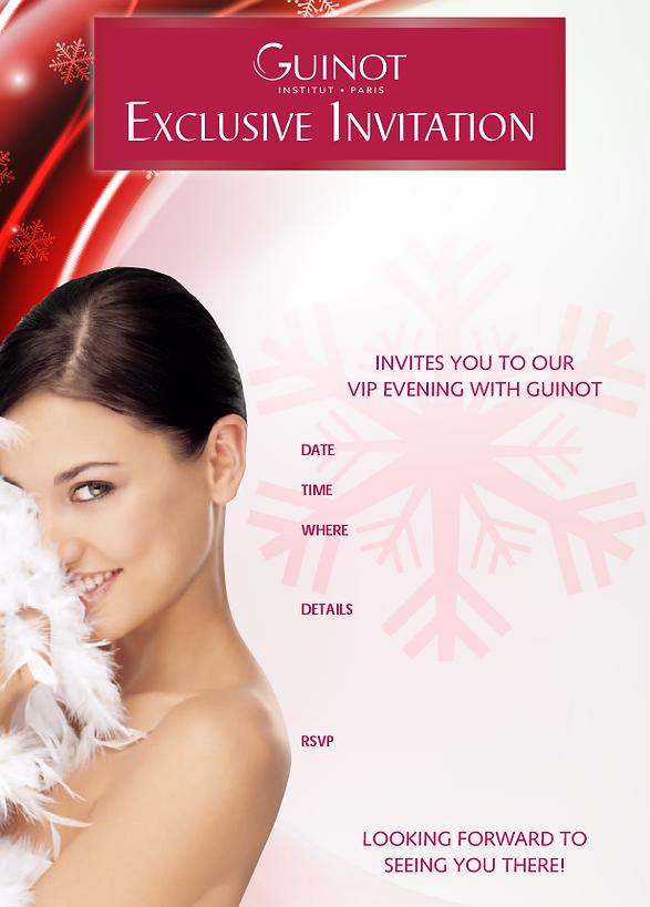 Exclusive Invitation Desig