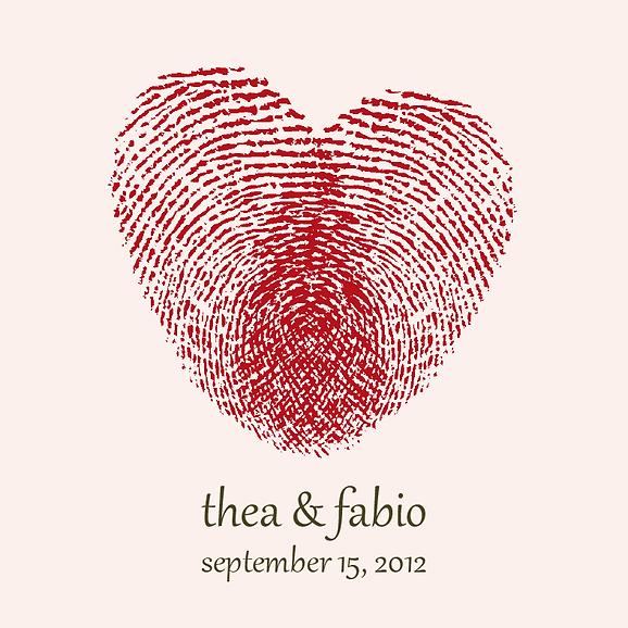 Wedding Invitation Design Heart