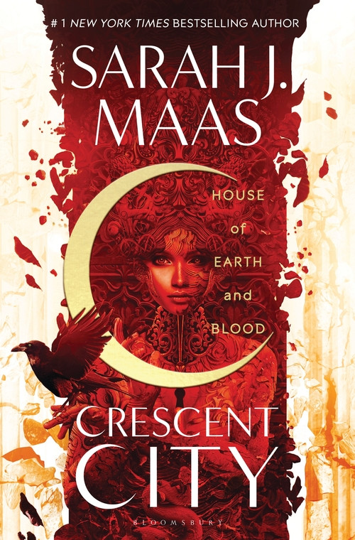 House of Earth and Blood by Sarah J. Maas. Crescent City book 1