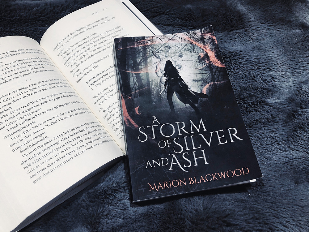 a storm of silver and ash - book - by Marion Blackwood