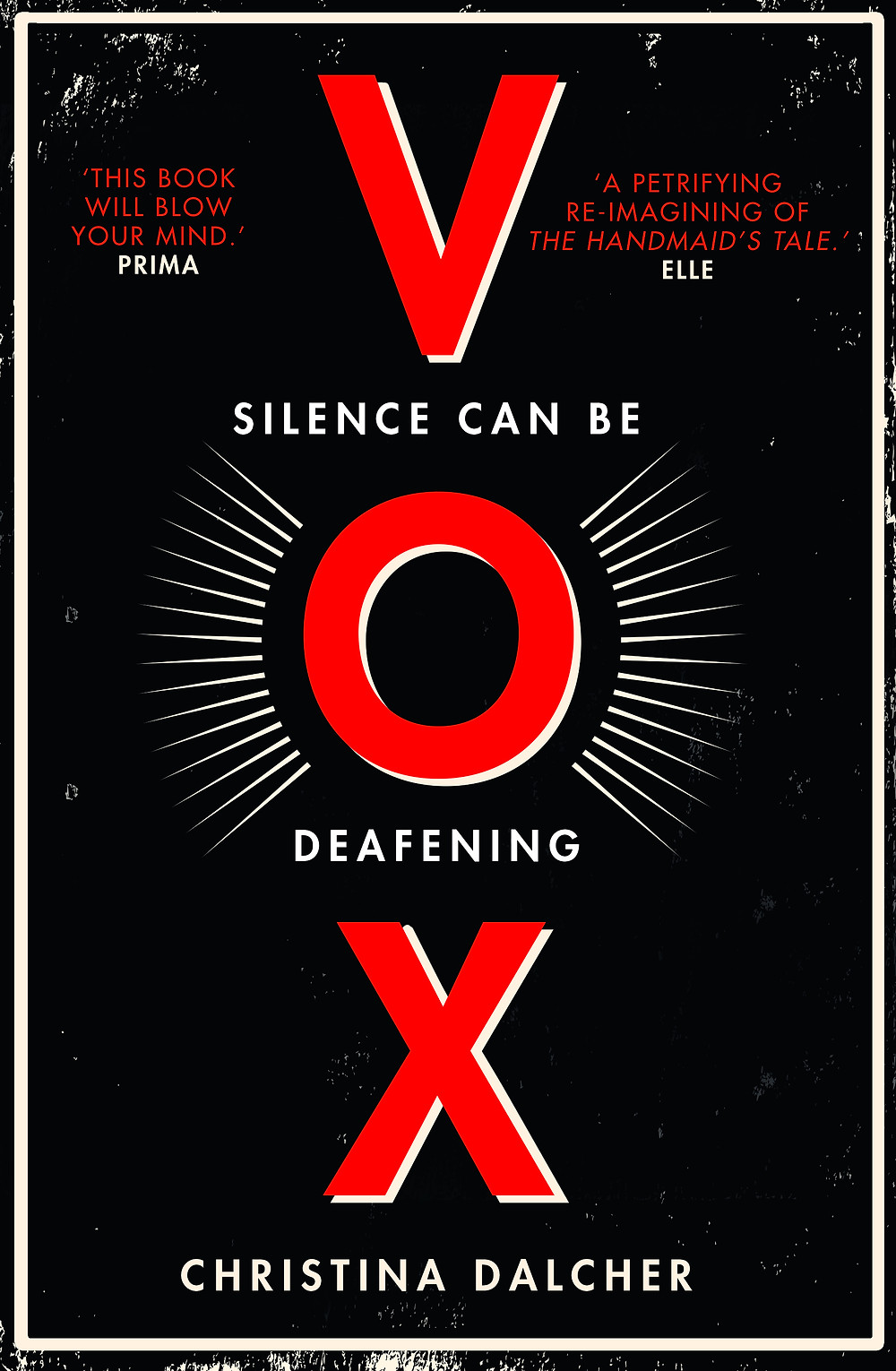 christina dalcher, vox, official cover, final cover, book, book cover