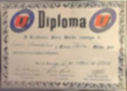 Nova Uniao Black Belt Certificate awarded to Gregory Hammerton