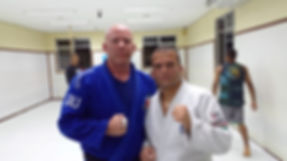 "Todd Meighen and Eduardo ""Dudu"" Barros at Nova Uniao in Rio De Janeiro, Brazil (2013)"