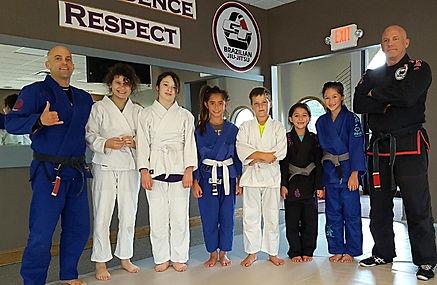 GT Brazilian Jiu-Jitsu Kids Class