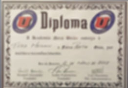 Nova Uniao Black Belt Certificate awarded to Todd Meighen