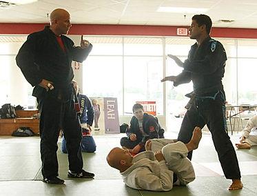 Todd Meighen & Gregg Hammerton learning from JT Torres