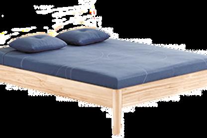 Cadre de lit Kayak sans tête en bois massif