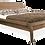 Thumbnail: Cadre de lit Fregate en bois massif