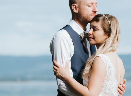 des Amoureux du Bord du Lac / Portraits de Mariage / Haute Savoie