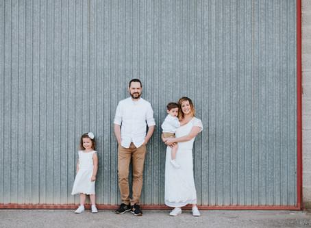 Mélanie & Patrice / Lisa - Louis / Mini Séance Famille / Lifestyle