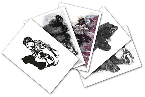 Bear Postcard Pack