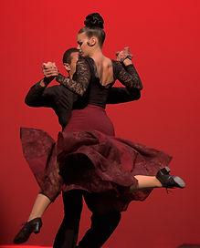 Couple Performance Dancing
