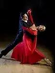 Couple Ballrom Dancing
