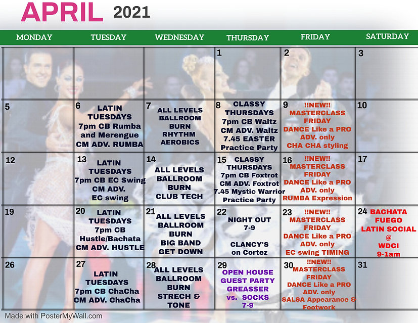 Copy of April 2021 Monthly Events Calend