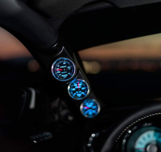 Gauges to Monitor Performance Mods.