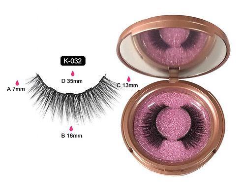 Cils magnétiques cat eyes K-032