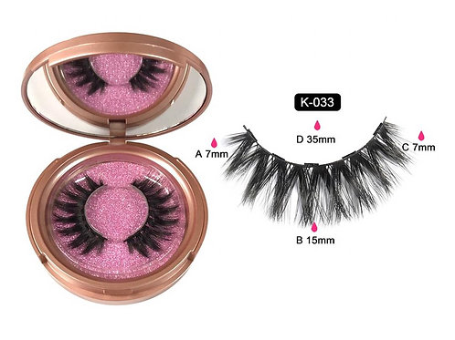Cils magnétique Dolly eyes K-033