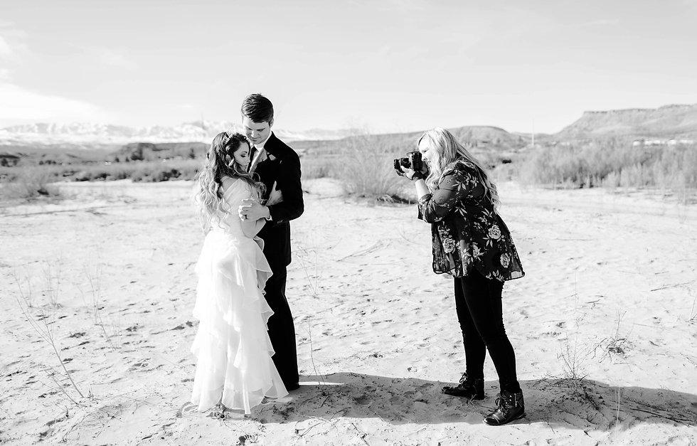 Jenna & Jake - St George Styled Shoot (4