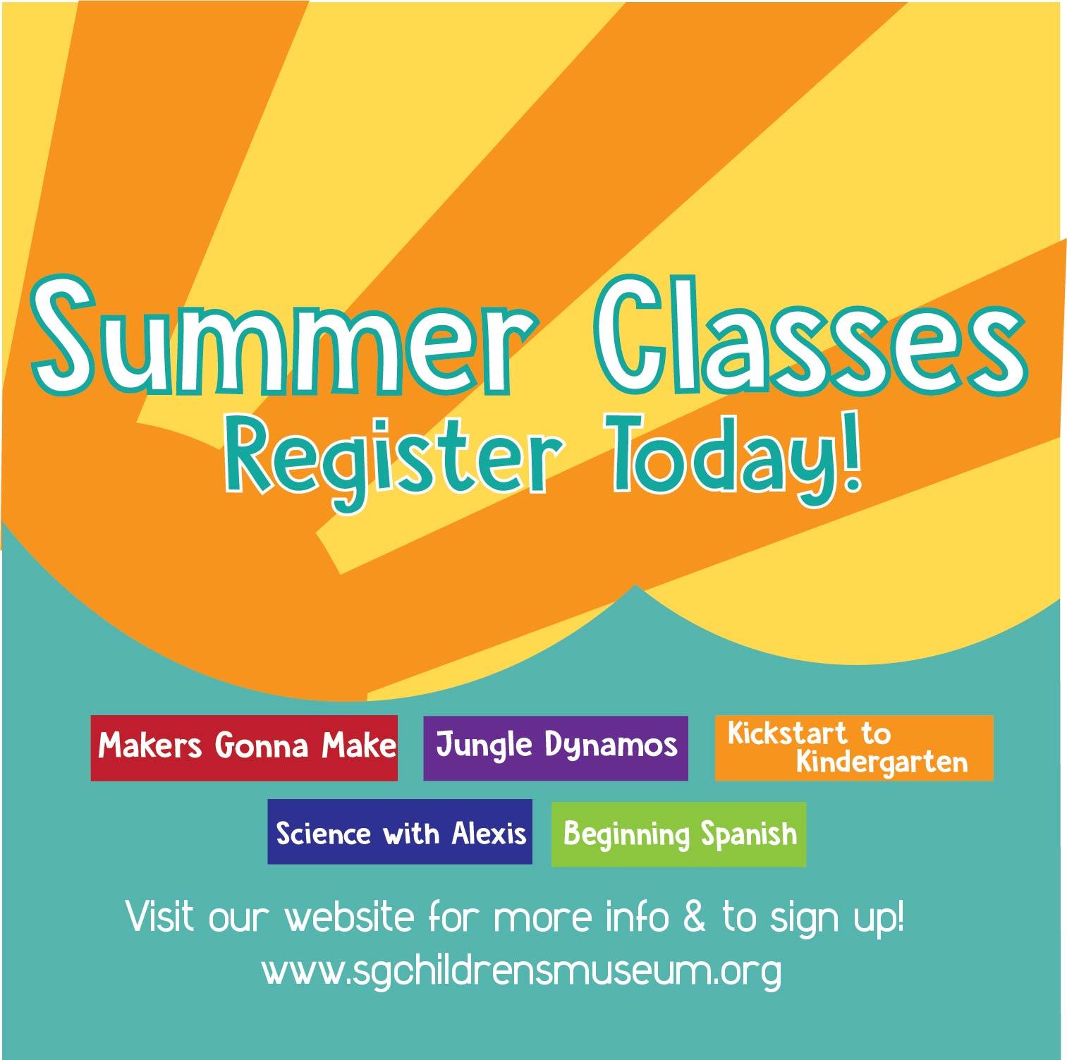 Summer 2017 Classes Register!