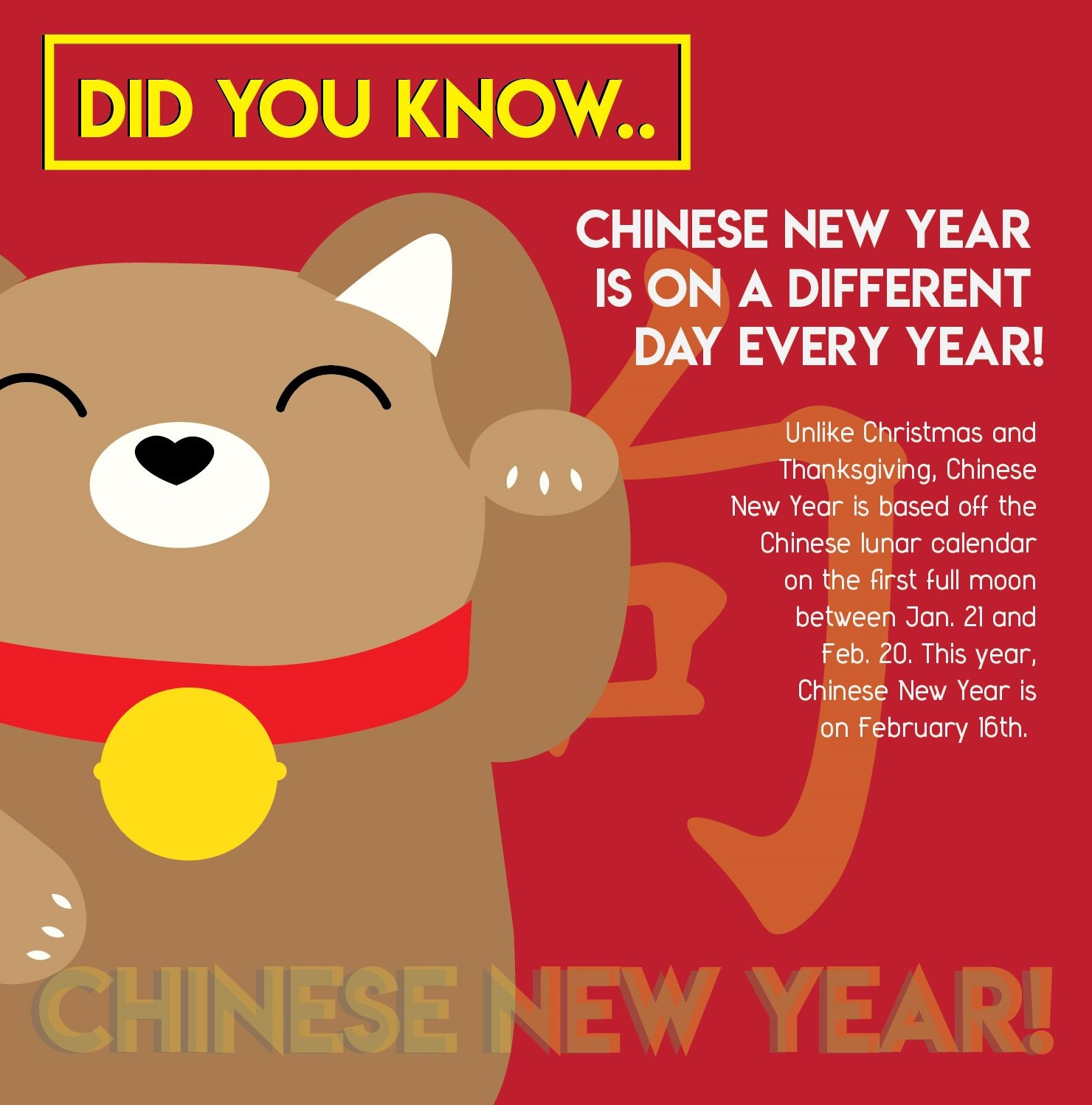 Chinese New Year Fun Fact #1