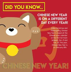 Chinese New Year Fun Fact #1