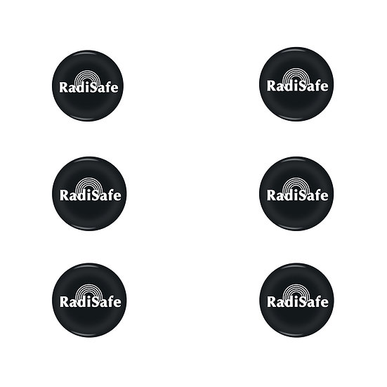 RadiSafe 6 Pack - EMF Harmonizer Protection 5G Stickers