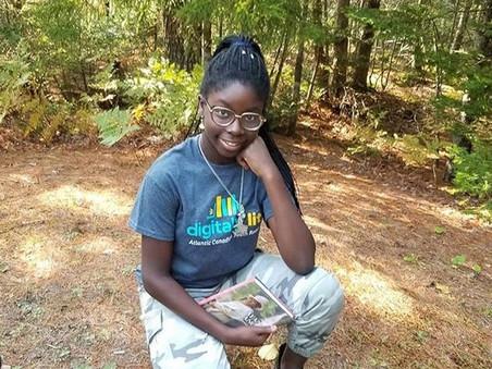 Nova Scotian teen creates virtual Afro-Indigenous youth book club