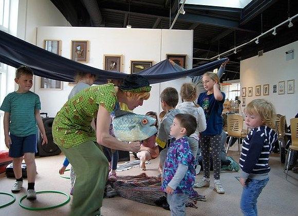 Rhubarb Theatre - Storytelling & Craft - Jack & the Flum Flum Tree