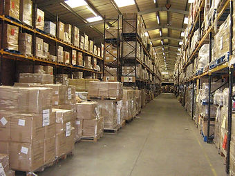 Storage and warehousing for fulfillment