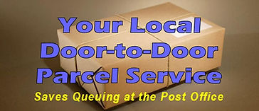 local door to door parcel service
