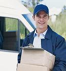 local parcel service driver