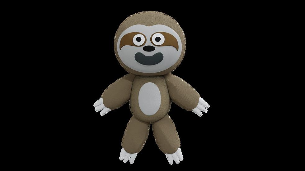 Happy Sloth Plush
