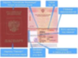 Образец загранпаспорта старого образца