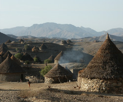 typical village in Eritrea