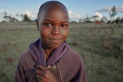 young kenyan woman smiling