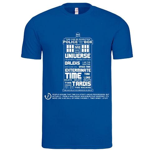 Tardis Inspired T-Shirt